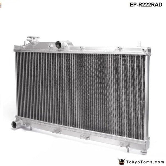 Aluminum Racing Radiator Fit For Subaru Impreza Wrx Sti Grb 08-14 H4 M/t