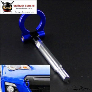 Aluminum Racing Tow Hook Ring Fits For Toyota Gt86 Scion Frs Subaru Brz 13-15 Blue