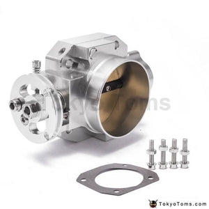 Aluminum Silver Intake Manifold 70Mm Throttle Body For Honda B16 B18 D16 F22 B20 D/b/h/f Eg Ek H22