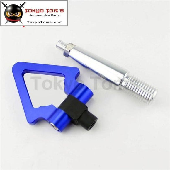 Aluminum Tow Hook Towing Ring For Mitsubishi Lancer Evo Ex 08-11 Blue
