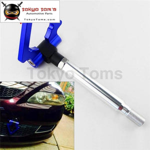 Aluminum Tow Hook Towing Ring For Toyota Gt86 Scion Frs Brz 13-15 Blue