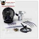 Aluminum Universal Bov Sqv Ssqv 3 Iii Turbocharger Blow Off Valve Turbo Silver / Black 01Egh001Bbk