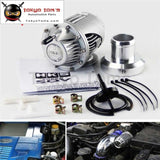 Aluminum Universal Bov Sqv Ssqv 3 Iii Turbocharger Blow Off Valve Turbo Silver / Black