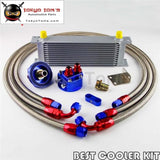 An-8An 13 Row Universal Engine Transmission Oil Cooler + Filter Relocation Kit