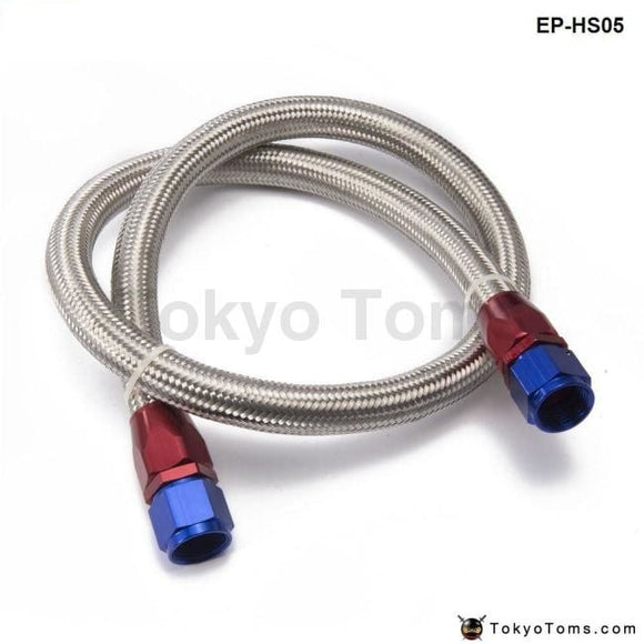 An10-0A 1.4 Meter Oil Fitting And Stainless Steel Braided Hose End Adapter Kit Cooler