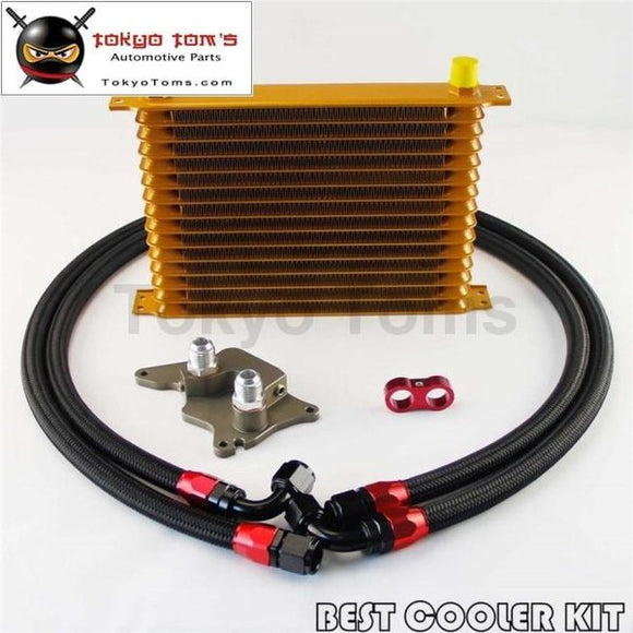 An10 15 Row Engine Trust Oil Cooler Kit For Bmw Mini Cooper S R56 Turbo 06-12