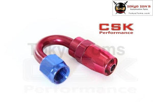 An12 An-12 12 An 180 Degree Swivel Fitting Hose End Adaptor Aluminium Oil Hose Fitting Adaptor