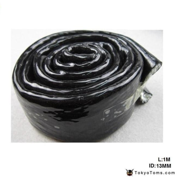 An8 Vulcan Fire Sleeve Braid Flame Shield Black 1/2X1M Id:13Mm For Bmw E39 5 Series Facelift