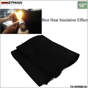 Auto Carbon Fiber Welding Blanket Torch Shield Plumbing Heat Sink Slag Fire Felt 18X18 X1/4 For Bmw