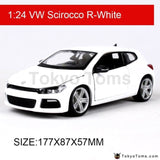 Bburago 1:24 Vw Scirocco R Diecast Model Car Metal Kids Toys Simulation For Gift Collection