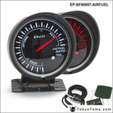Bf 60Mm Led Air/fuel Ratio Gauge High Quality Auto Car Motor With Red & White Light For Bmw E46