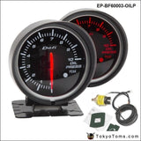 Bf 60Mm Led Oil Pressure Gauge High Quality Auto Car Motor With Red & White Light For Bmw E39 Gauges