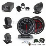 Bf 60Mm Led Water Temp Temprature Gauge Auto Car Motor With Red & White Light For Seat 2001-2006