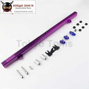 Billet High Flow Fuel Injector Rail Fits For Skyline R32 R33 R34 Gtr Rb26Dett Rb26 Pl