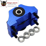 Billet Motor Torque Mount Kit Fits For Honda Civic Eg Ek D16 B16 B18 B20 Engine Blue