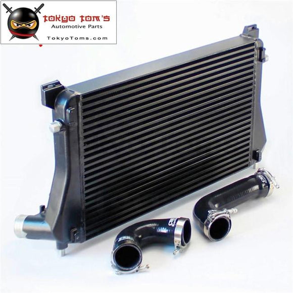 Black Intercooler + Pipe Kit For A3/s3 / Vw Golf Gti R Mk7 Ea888 1.8T 2.0T Tsi Kits