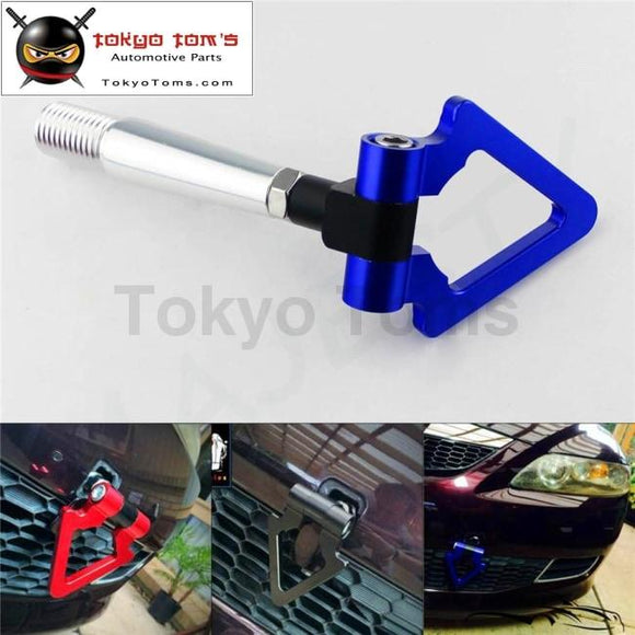 Blue Aluminum Tow Hook Towing Ring For Mitsubishi Lancer Evo Ex 08-11