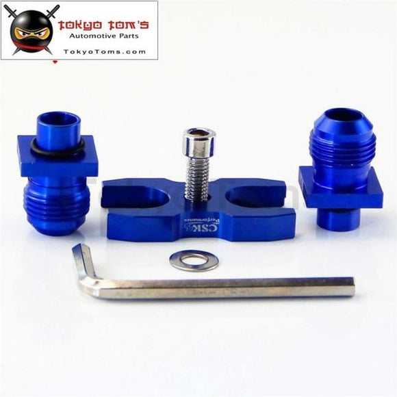 Blue/black An-10 Oil Cooler Adapter Fits For Bmw E36 E46 M3