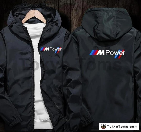 BMW M-POWER STYLE  Windbreaker Sweatshirts Hoodie