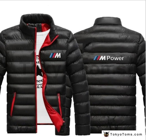 BMW Style M-Power Windbreaker Jacket