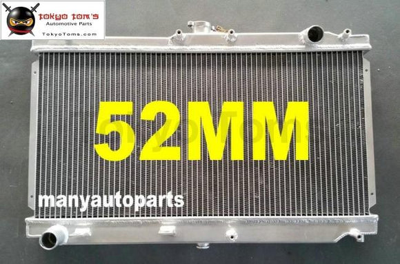 Brand New For Mazda Miata Mx5 1999-2005 Mt Aluminum Radiator 52Mm