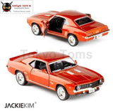 Brand New Rmz City 1/36 Scale Chevrolet Camaro Ss (1969) Metal Diecast Car Model Toys With Pull Back