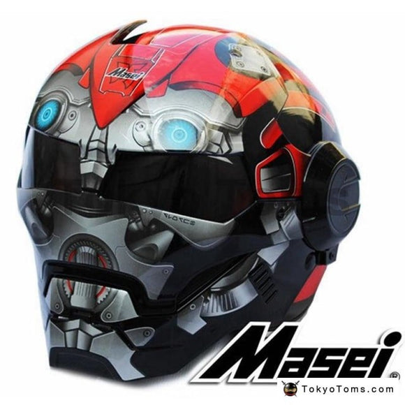Bumblebee MASEI helmet Red/Black