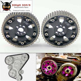 Cam Gear Pulley Sprocket Kit For Nissan R32 R33 R34 Rb20 Rb25Det Rb26Det Black
