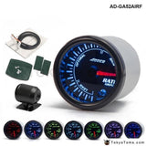 Car Auto 12V 52Mm/2 7 Colors Universal Air Fuel Ratio Gauge Meter Led With Holder Ad-Ga52Airf Gauges
