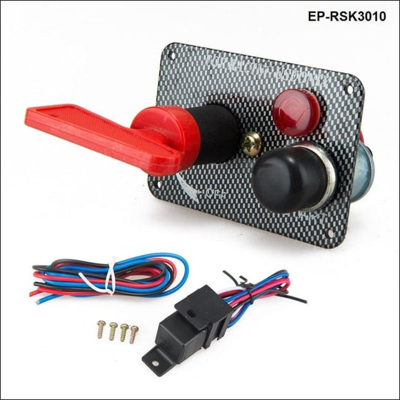 Car Electronics Racing Switch Kit/switch Panels-Flip-Up Start / Ignition/ Accessory For Bmw E39