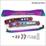 Car Racing Jdm Neochrome Rear Subframe Brace+Tie Bar+Lower Control Arm For Honda Civic Eg 92-95