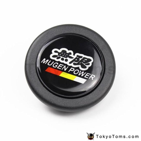 Car Styling Black Mugen Racing Steering Wheel Horn Push Button For Honda