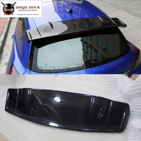 Car Styling Carbon Fiber Rear Spoiler Roof Wings For Volkswagen Scirocco R Style 09-15