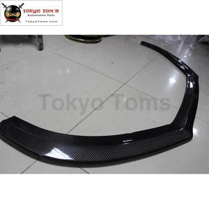 Car Styling Cc Carbon Fiber Front Bumper Lip For Volkswagen R-Line 09-12
