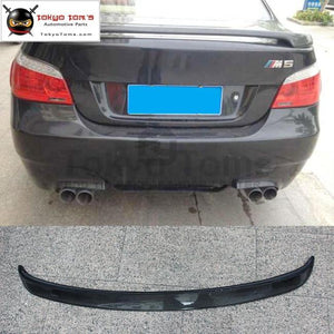 Car Styling E60 5 Series Ac Style Carbon Fiber Rear Spoiler Wings For Bmw 520I 525I 530I 05-09