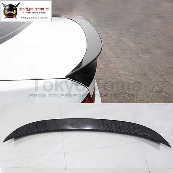 Car Styling F10 5 Series Ac Style Carbon Fiber Rear Spoiler Wings For Bmw 520I 525I 530I 535I 10-17