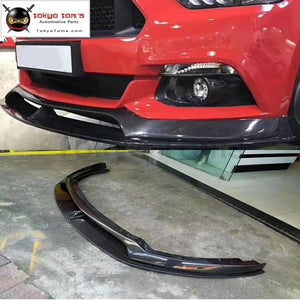 Carbon Fiber Ac Style Front Bumper Lip Rear Diffuser For Ford Mustang Car Body Kit 15-17
