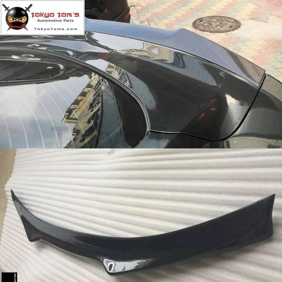 Carbon fiber Rear bumper spoiler for Ford Mustang Car body kit 15-17