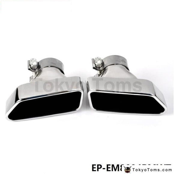 Chrome 304 Stainless Steel Exhaust Muffler Tip For Bmw 13-14 5-Class F18/f10