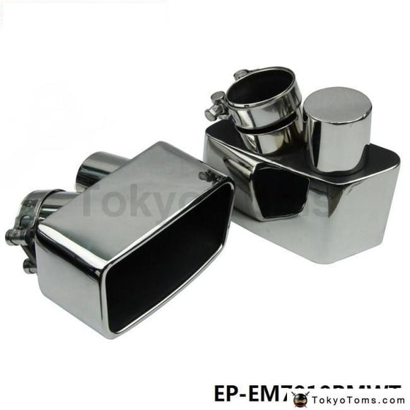 Chrome 304 Stainless Steel Exhaust Muffler Tip For Bmw Gt 535 F07