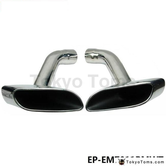 Chrome 304 Stainless Steel Exhaust Muffler Tip For Bmw X6 E71