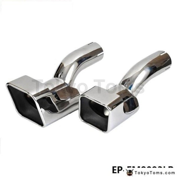 Chrome Stainless Steel Exhaust Muffler Tip For Land Rover 12-13 Range Diesel Sports