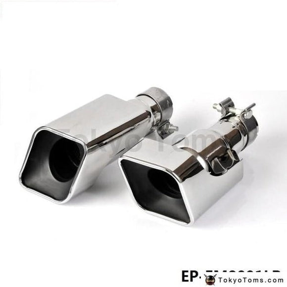 Chrome Stainless Steel Exhaust Muffler Tip For Land Rover 12-13 Range Gasoline Sport