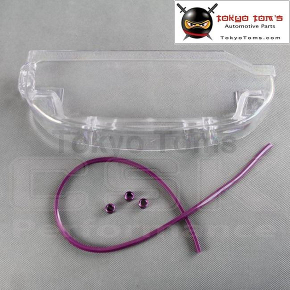 Clear Cam Cover For Mitsubishi Lancer EVO Eclipse 4G63 Dohc Dsm Timing Belt Cover