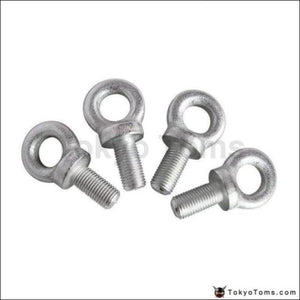 Competition Harness Eye Bolt Size:7/16 Set Of 4Pcs For Racing Seat Safety Belt Vw Golf Gti Mk2 8