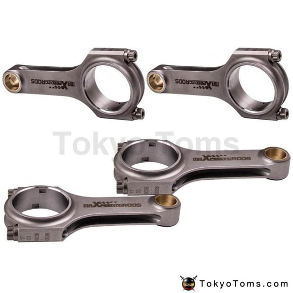 Connecting Rod 4340 Rods for Mitsubishi Lancer 2.0 EVO 1 2 3 4G63 early Model Conrod 4340 EN24 Floating 800BHP Balanced Crank