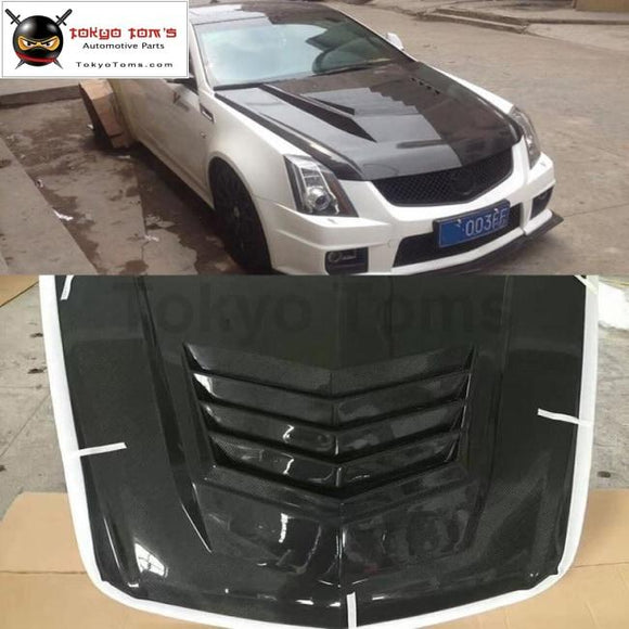 CTS carbon fiber engine hood cover For Cadillac CTS Car body kit 04-15