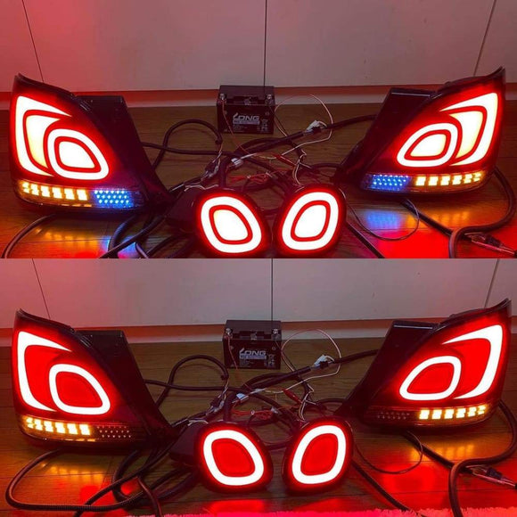 Custom Lexus GS300 Dancing Tail Lights