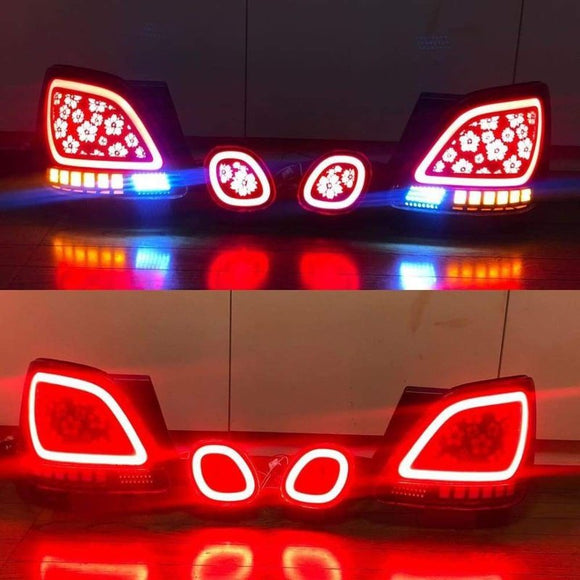Custom Lexus GS300 Dancing Tail Lights - Chery Blossom