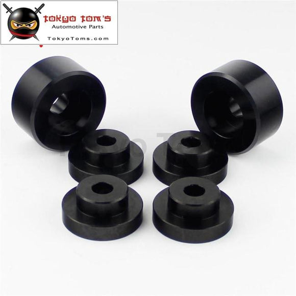 Drifting Race Solid Differential Mount Bushings S14 S15 95-98 Skyline R33 R34 Black / Gold